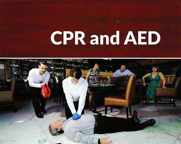 Emergency Medical Training CPR and AED course
