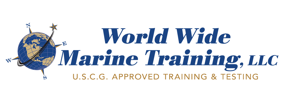 World Wide Marine Training and We Give The Test Logo